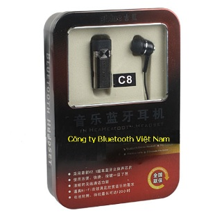 Tai nghe BLuetooth GBlue C8